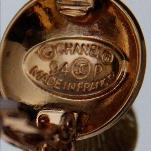 Beautiful authentic Chanel dangling earrings